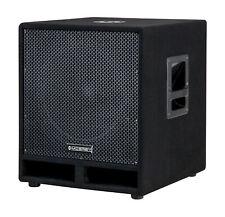 DJ PA Subwoofer Disco Bass Party Box 38cm (15