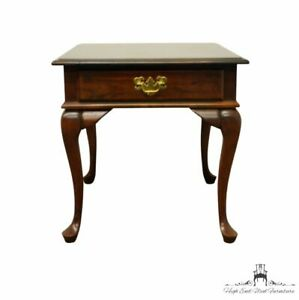 """CRESENT FURNITURE Solid Cherry Traditional Style 22"""" Accent End Table 207"""