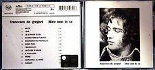 Francesco De Gregori – Alice Non Lo Sa - 1 CD n.3710