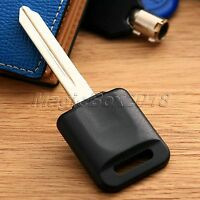 New Uncut Ignition Blank Chipped Car Key Case W/ Transponder Chip For 46-Nissan