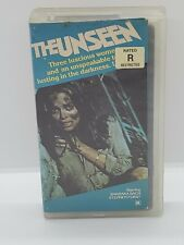 1988 The Unseen Barbara Bach Vhs Movie Cult, Horror, Gore, Exploitation, Htf
