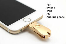 32GB Rose G 3 in 1 OTG USB Memory Flash Drive U Disk For IOS / Android Phone/PC