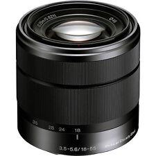Sony SEL 18-55mm f 3.5-5.6 OSS SEL1855 Black Lens E mount US model A6000 A6300