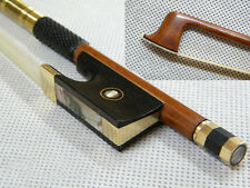 Wonderful Violin bow High quality Pernambuco Gold Mounted 4/4
