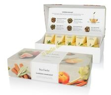 TEA Fortè GARDEN HARVEST white BIO box 10 filtres pyramid tè blanches aux fruits