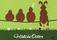 "Postkarte, Osterkarte, ""Fröhliche Ostern"""