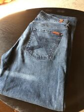 Men's 7 For All Mankind Standard Jeans Stretch Size 31 X30. Tailored.
