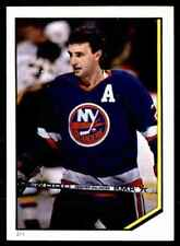 1986-87 O-Pee-Chee Album Stickers Brent Sutter #211