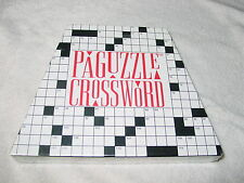 Paguzzle Crossword Puzzle/Game, New and Factory Sealed, 1994, Word Origins, Inc.