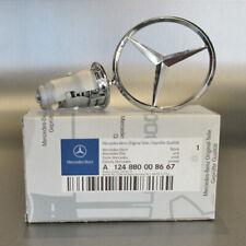 Original Mercedes Stern für Motorhaube chrom W123 W124 W126 W201 A1248800086