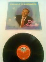 TALAT MAHMOOD - GHAZALS TO REMEMBER LP EX!!! ORIGINAL HMV EMI INDIA ECLP 2265