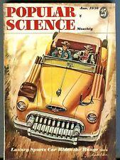 Popular Science Magazine Janaury 1950 Sports Car Rides The Range 070517nonjhe
