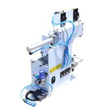 Pneumatic Pad Printing Machine 50w Coding Words Padding Printer Etching Press