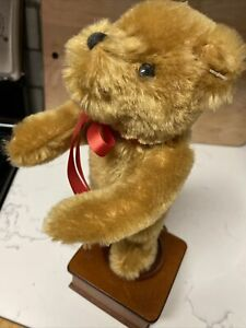 Merrythought Dancing Bear Music Box Limited Edition 0032/1000 1993 Works