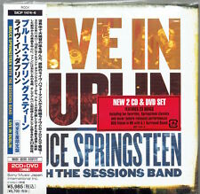 BRUCE SPRINGSTEEN With Sessions Live In Dublin * SEALED JAPAN 2xCD+DVD SICP-1474