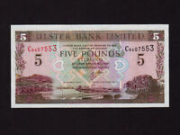 Northern Ireland:P-335c,5 Pounds,2001 * Ulster Bank * UNC *