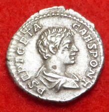 Super Felicitas Denarius of Geta