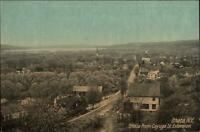 Ithaca NY From Cayuga St. Extension c1910 Postcard