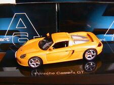 PORSCHE CARRERA GT YELLOW LHD 2006 AUTOART 58044 1/43 JAUNE ROADSTER SPORTIVE