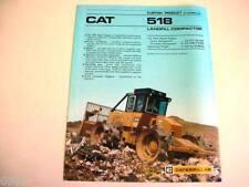 Caterpillar 518 Landfill Compactor Brochure