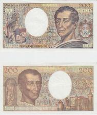 Gertbrolen  200 Francs MONTESQUIEU  Année 1992  T .117
