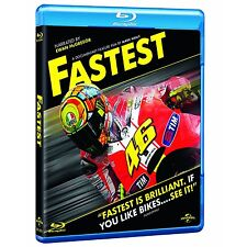 FASTEST Blu-ray RB/Aus - Valentino Rossi, Jorgë Lorenzo, Ben Spies New & Sealed