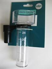2 X Rain Gauge Measure up to 25mm of Rainfall Weather Station