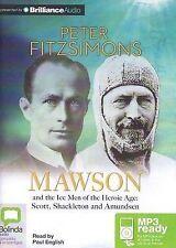 Peter FITZSIMONS / MAWSON     [ Audiobook ]