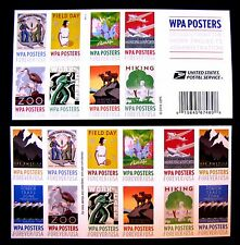 5189B WPA POSTERS FOREVER SELF-ADHESIVE 20-STAMPS, 1 SHEET (SEE NOTE)