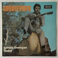 [BEE GEES COVER] LONNIE DONEGAN ~ LONNIEPOPS ~ 1970 UK 12-TRACK VINYL LP RECORD