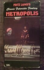 FRITZ LANG'S 'METROPOLIS' ALFRED ABEL GUSTAV FROELICH VHS