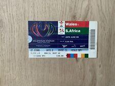 More details for wales v south africa, used ticket - 1999 millennium stadium opener - sat 26/6/99