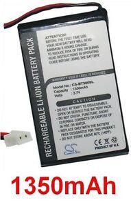 Batterie 1350mAh Pour Dell GPS BT-309, Globalsat BT-308, HP BT GPS