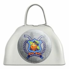 Big Big Adventure Dinosaur Train White Metal Cowbell Cow Bell Instrument