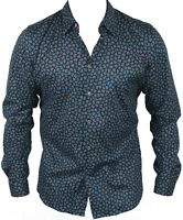 New Paul Smith Mens Casual Shirt in Black Colour Size L