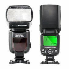 ZOMEI 1/200s-1/20000s Camera Flash Manual Flash Speedlite GN 56 for Canon Nikon