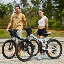 """Bicicletta Elettrica Pieghevole 26"""" Bici Elettriche Bicicletta da Montagna EBike"""