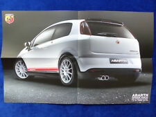 Fiat Abarth Grande Punto esseesse - Poster Prospekt Brochure 11.2008