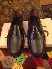 GH Bass & Company Black Weeguns Bass Leavitt 6 1/2 3E Leather Penny Loafer #A083