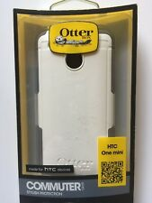 OtterBox Commuter Series HTC One Mini GLACIER (WHITE/GUNMETAL GREY) NEW