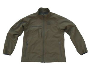 Dutch Army Softshell Jacket Windproof Water Resistant Midlayer