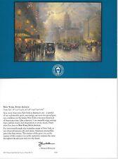 """Thomas Kinkade,""""NEW YORK, FIFTH AVE""""   (2 card lot)  ***NEW***"""