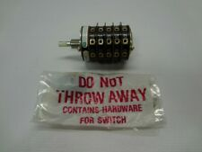 Electroswitch 31205a Rotary Switch New Unused