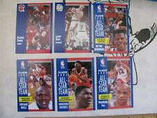 1991-92 Fleer Basketball complete set 1-400 Hand collated, NRMT. Includes 1-6.