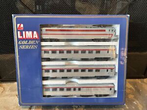 LIMA models Golden Series HO Trans Europ Express 149758 GP Train Set NIB 🚃