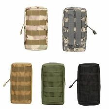 Mens Tactical Molle Belt Pack Camping Hiking Waist Bag Army Military Pouch New