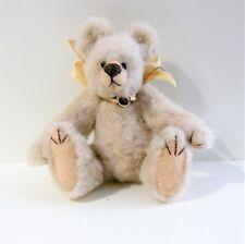 "Artist made Miniature Faux Fur Teddy Bear ""Fallon"" by Beth Diane Hogan- 3"" Ooak"