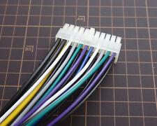 Speaker Level Input Harness Power cable Plug no RCA For Alpine KTA-450 Amplifier