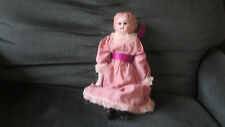 Vintage Doll with Painted Hair and Painted Boots 15""