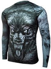 Koszulka Termoaktywna Sportowa Wilk Wolf Longsleeve Sport Shirt Thermoactive M